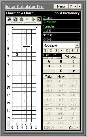 Mudah Belajar Chord Gitar dengan Guitar Calculator Pro 4.0