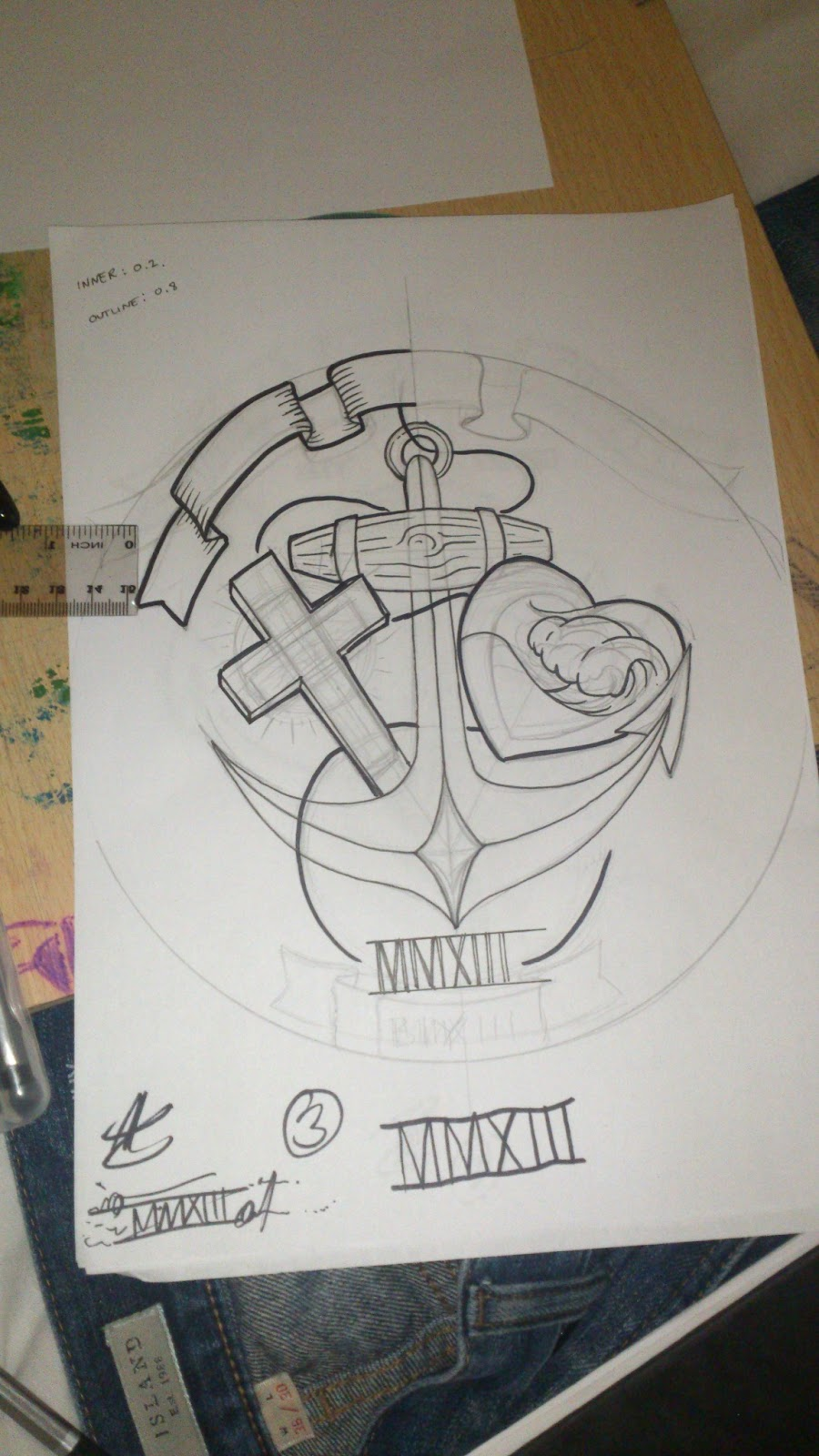 Faith Hope Charity Tattoo Designs Faith hope and charity design