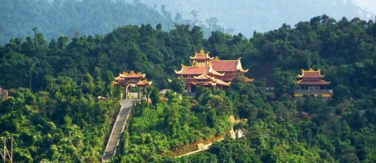 thiền viện trúc lâm Núi Bạch Mã