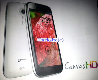 Micro Max Canvas 2 HD A116