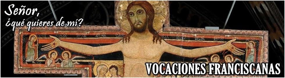 Vocaciones Franciscanas