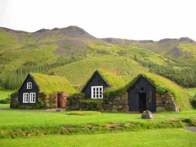 Turf Houses Faroe Islands