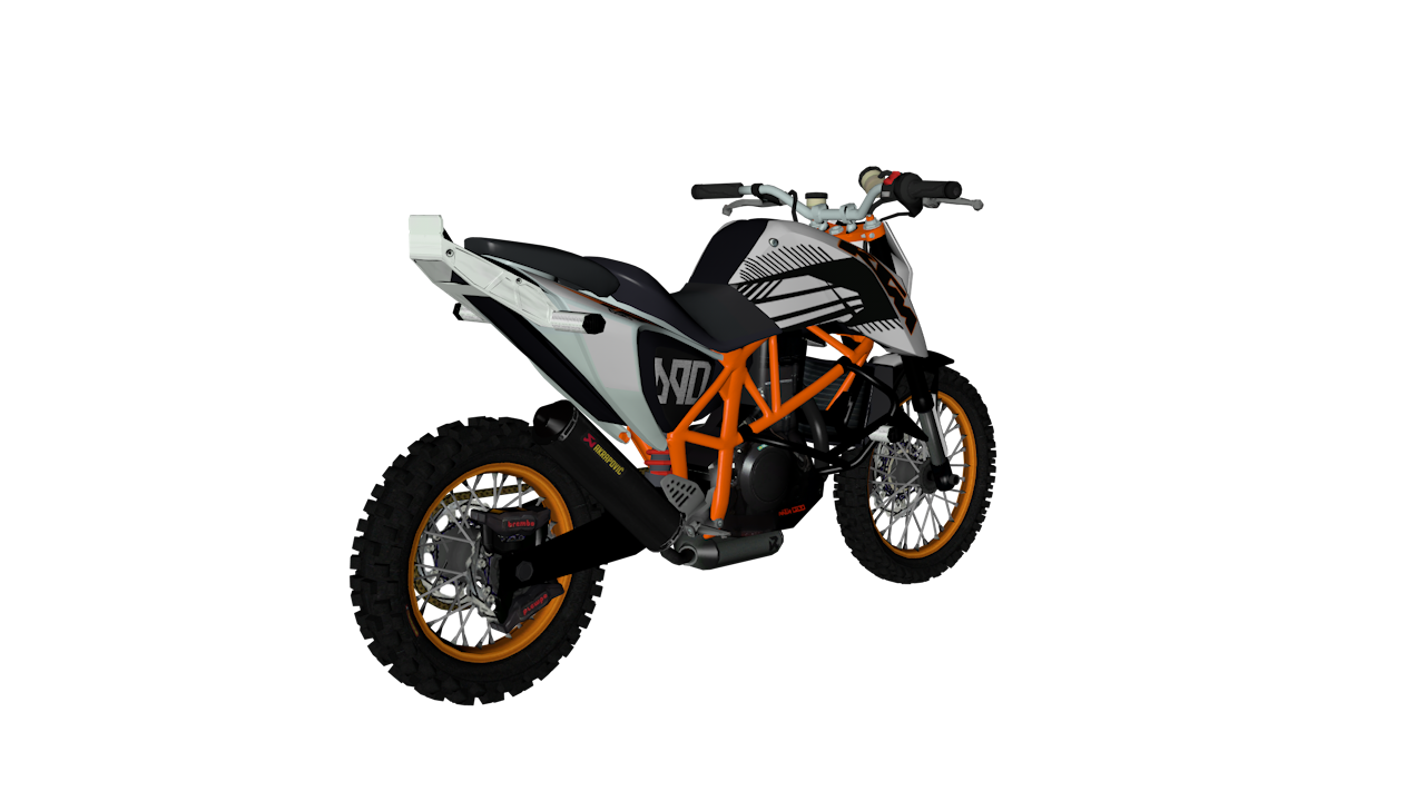 Ktm Gta Sa >> GTAMxModsSA: KTM Duke 690 Off Road
