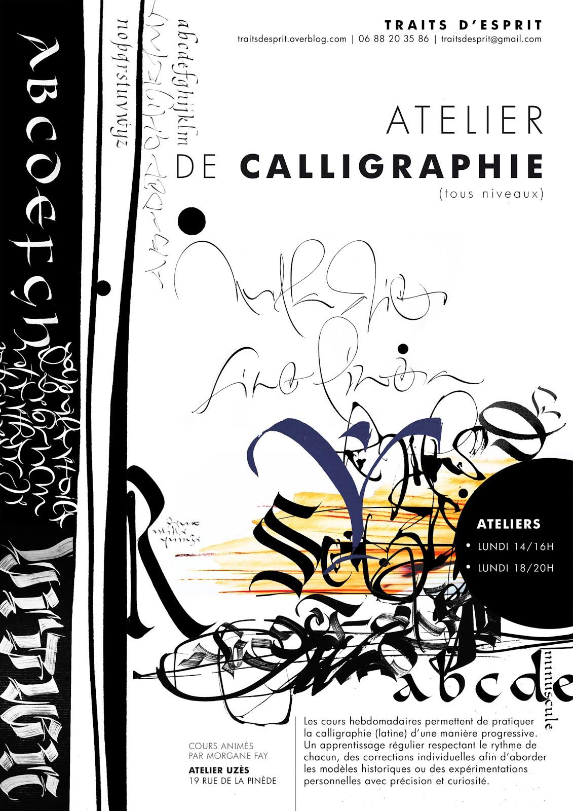 Calligraphie à Uzès