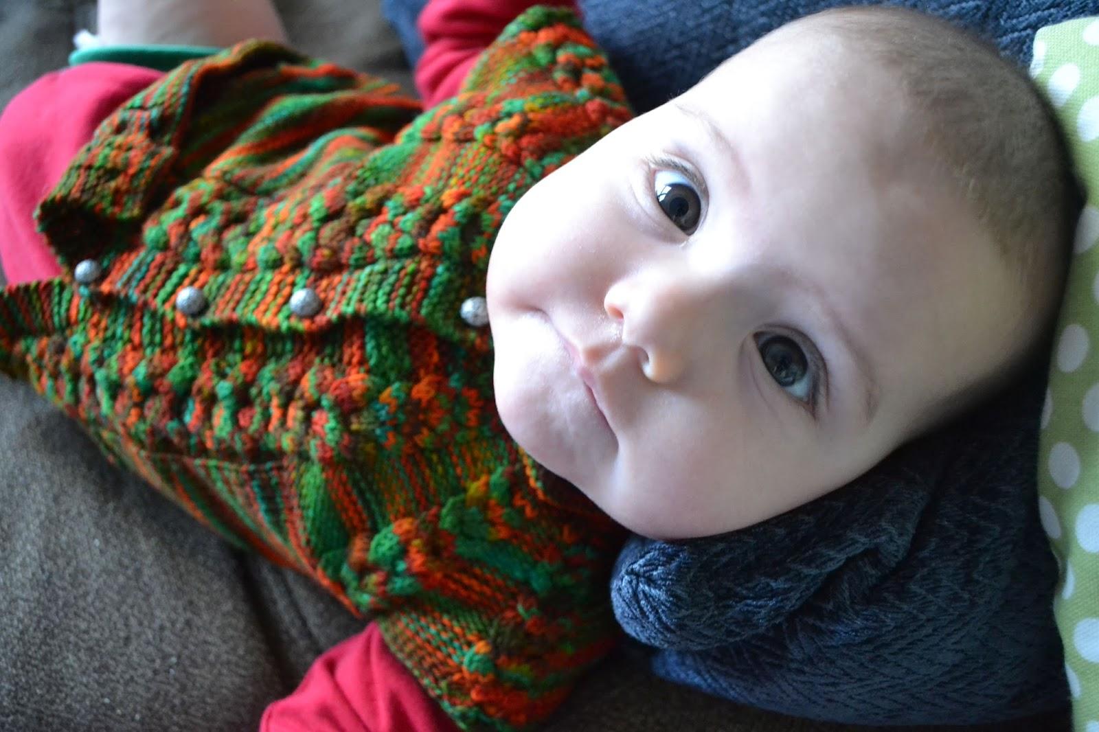 Wollmeise Sock Yarn 80/20 DROPS Design Baby Sweater