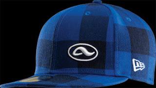gorra azul cuadros cuadriculada cielo adio skate cap