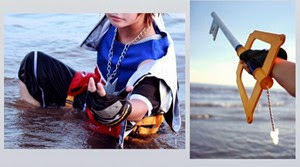 Kingdom Hearts Sora Cosplay