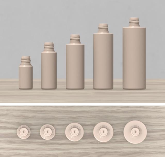 プラスチック容器 ボトル - Plastic container 3D objects