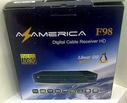 Azamerica F98 - Atualização v2.74 Plus de 23/10/2012