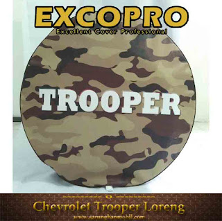 sarung ban cover ban serep chevrolet trooper