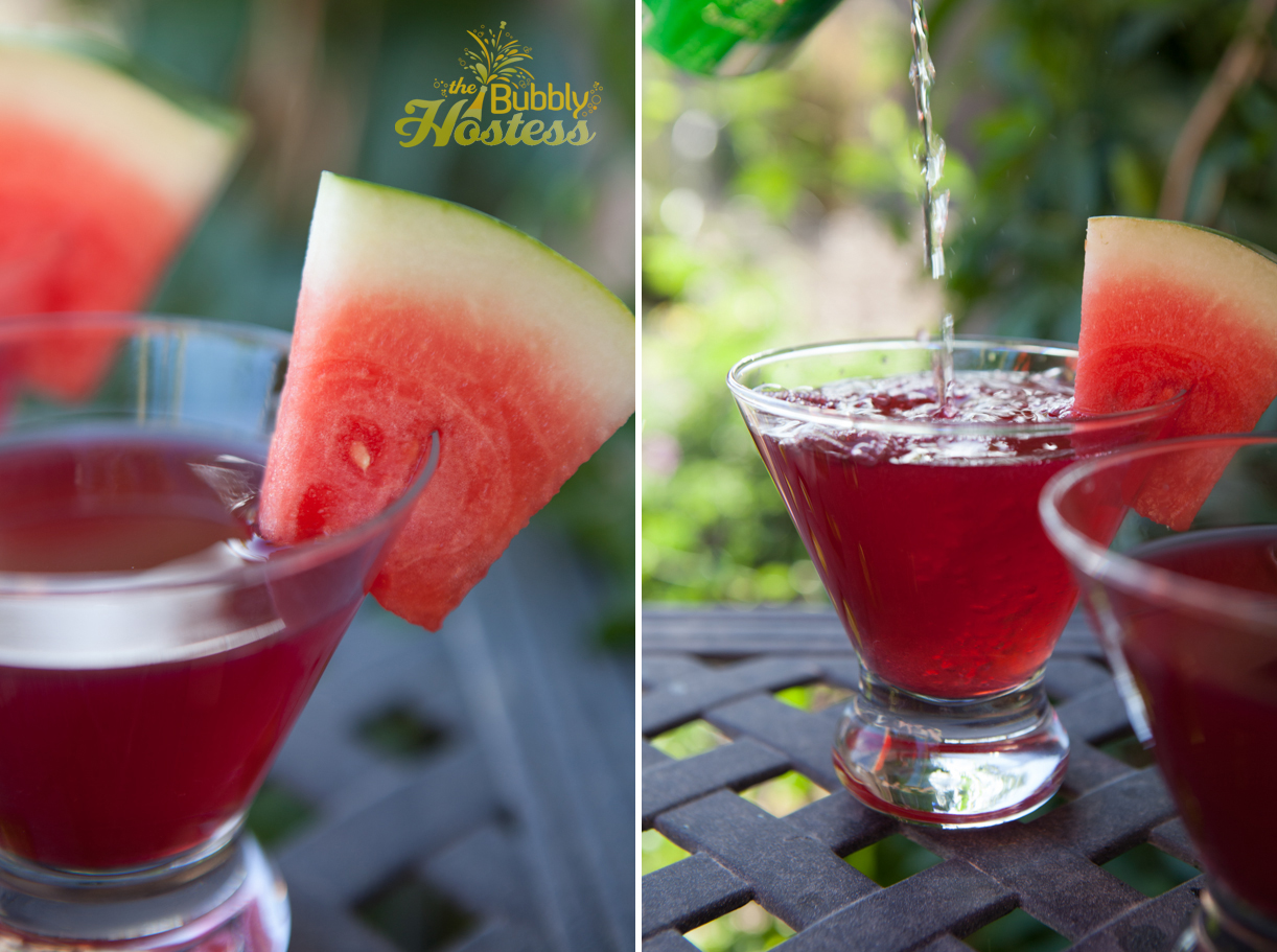 Pomegranate Watermelon Rum Cooler – The Bubbly Hostess