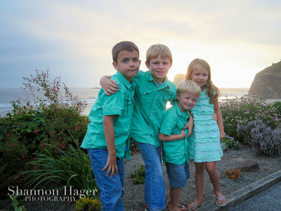 Shannon Hager Photography, Sunset Portraits, Oregon Coast, Chilren's Photographer