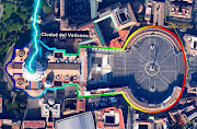 Plaza de san Pedro simboliza el falo del dios sol que es el obelisco llave del vaticano