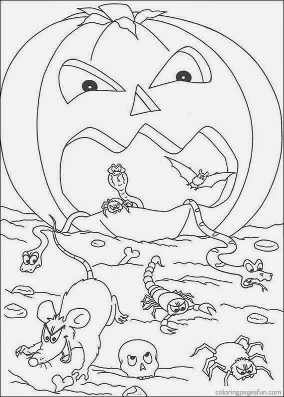 Challenger image with regard to spooky halloween coloring pages printable