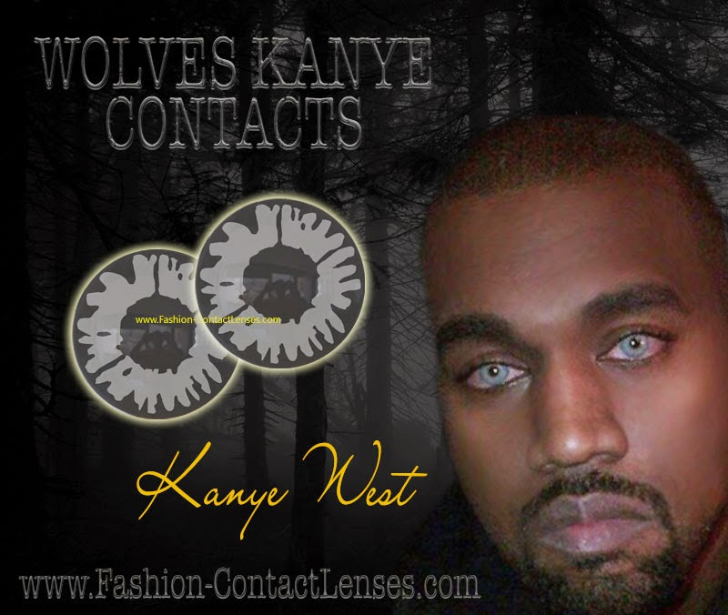 Kanye West Wolf Contact Lenses