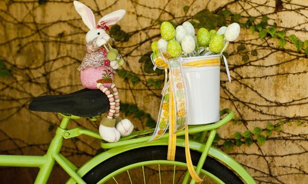 enfeite jardim bicicleta:MIL IDEIAS de imagem e estilo por Fe Cardoso: Decoração de Páscoa!