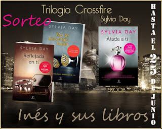 Sorteo de la trilogía Crossfire de Sylvia Day.