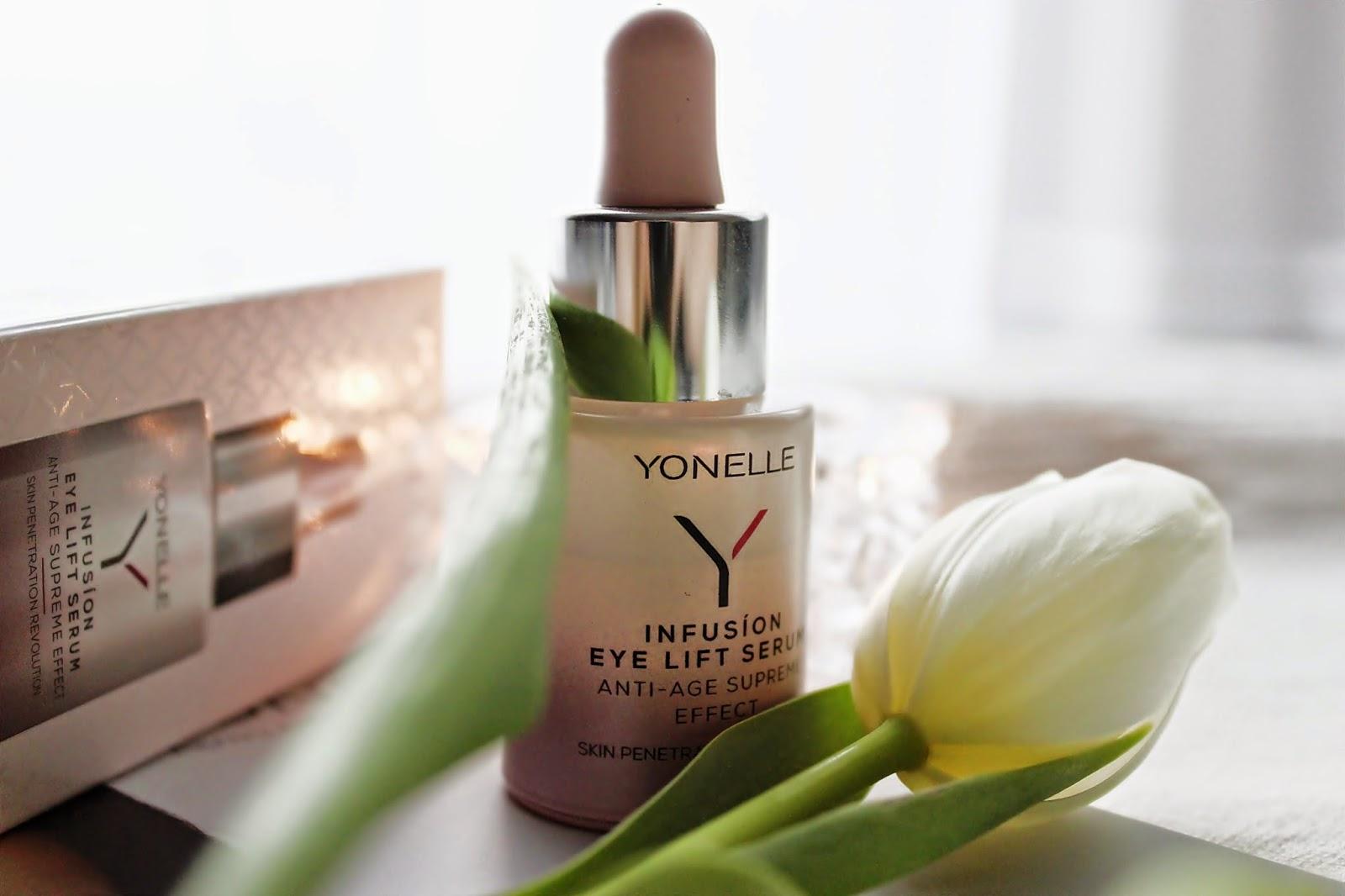 YONELLE, Infusion Eye Lift Serum - liftingujące serum pod oczy i na powieki