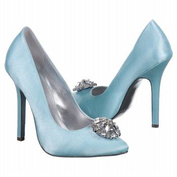 Elegant Bridal Style: Tiffany Blue Wedding Shoes