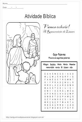 A ressurreição de Lázaro