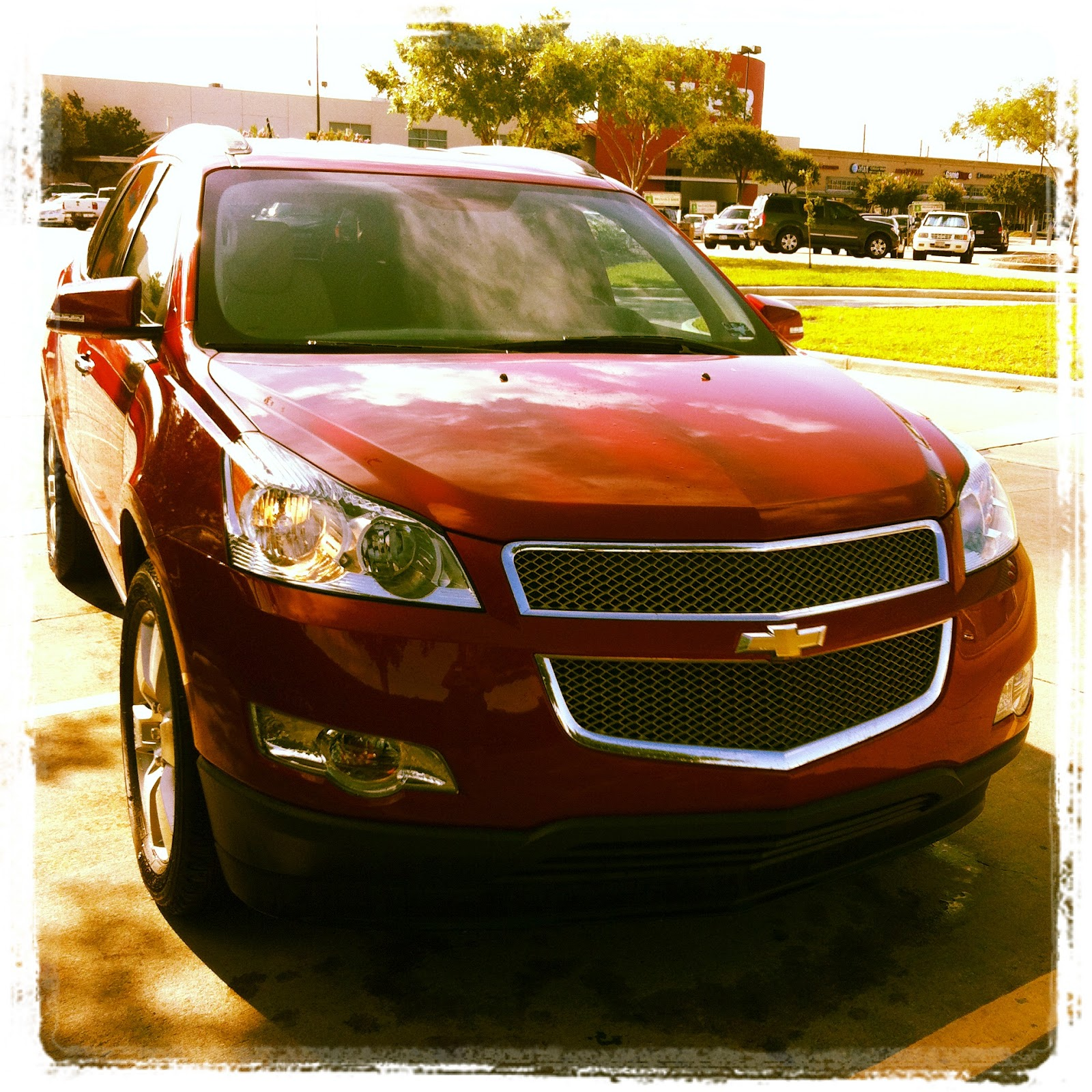 2012 Chevrolet Traverse Interior: Our #ChevyStaycation In The Traverse LTZ