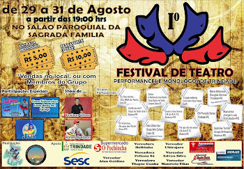 1º Festival de Teatro, Performances e Monólogos de Trindade