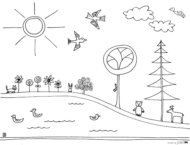 earth day coloring worksheet. Earth Day Coloring Sheet