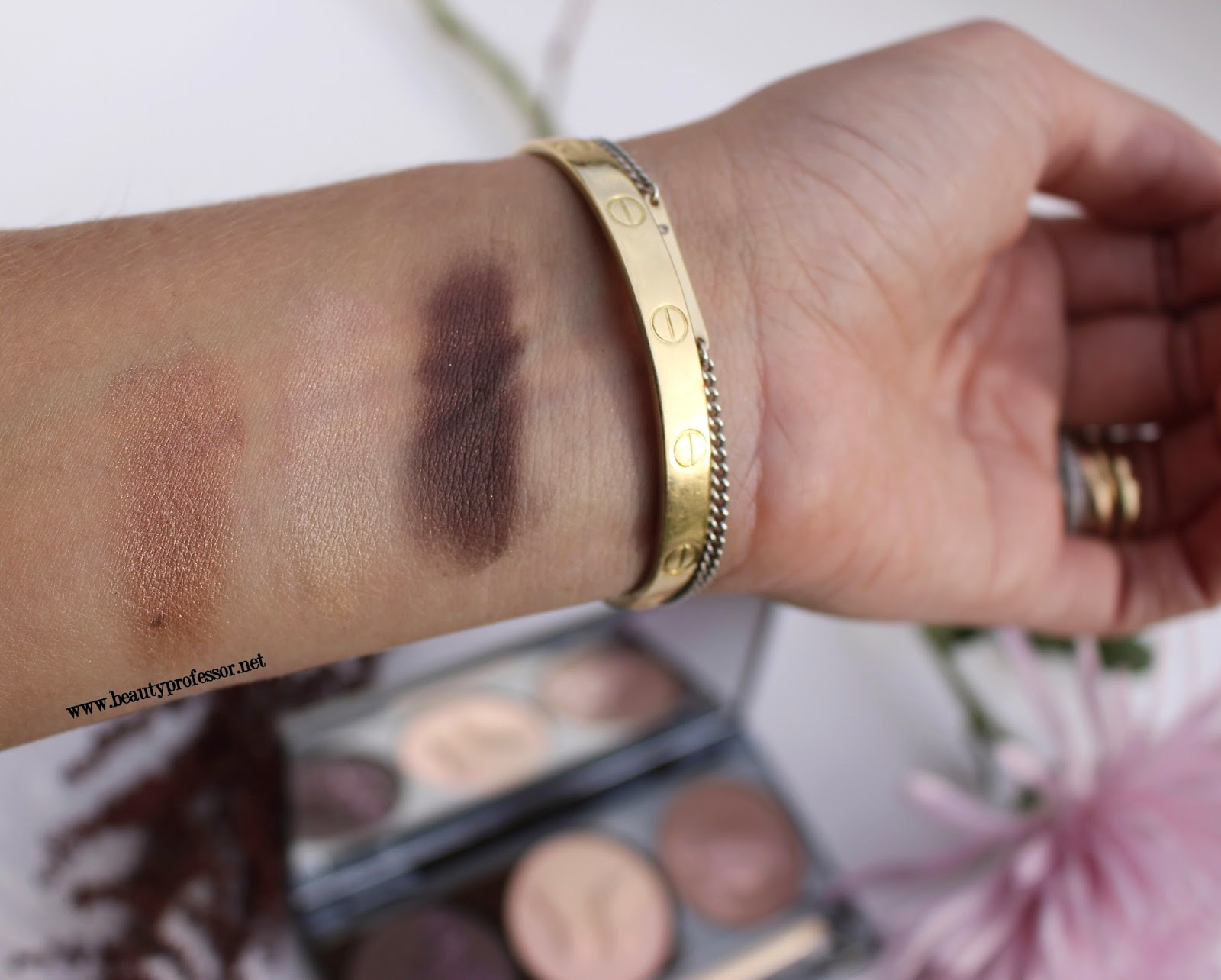 chantecaille 15 year anniversary palette swatches
