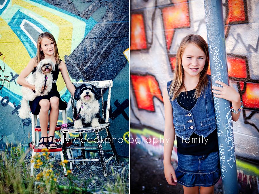 seattle urban family portrait session