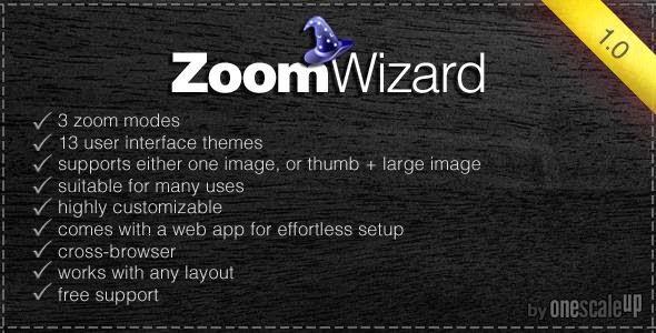 JQuery Zoom Wizard