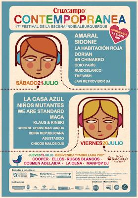 contempopranea contemporanea alburquerque extremadura Cartel fechas dias grupos artistas horarios festivales