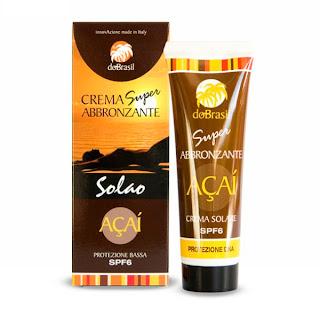 Crema Solare Super Abbronzante SPF 6 - Do Brasil