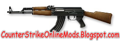 Download AK47 from Counter Strike Online Weapon Skin for Counter Strike 1.6 and Condition Zero | Counter Strike Skin | Skin Counter Strike | Counter Strike Skins | Skins Counter Strike