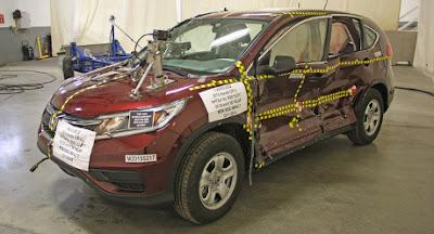 Uji Tabrakan Mobil Honda CR-V Terbaru Raih Poin Tertinggi