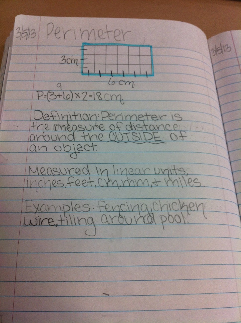 They Were Asked To Find The Perimeter Of One, Use It To Define Perimeter,