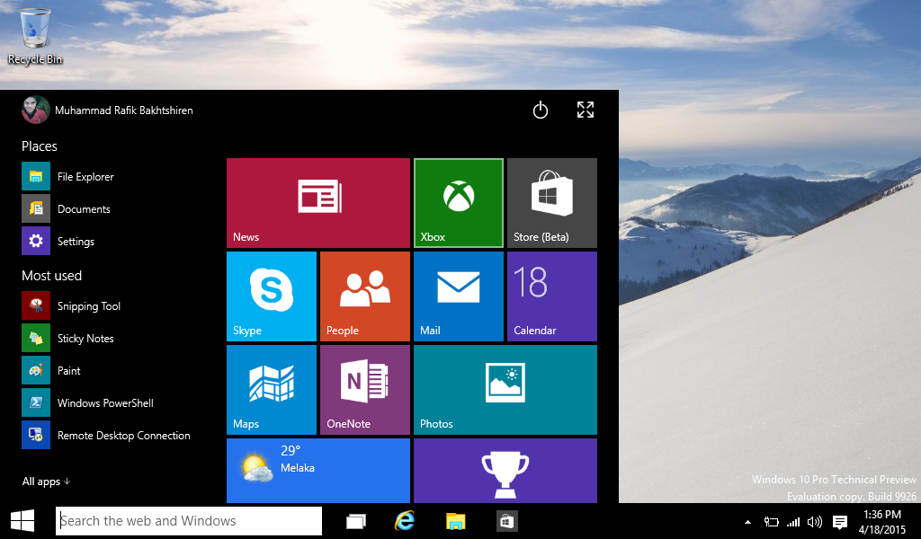 Install New Windows 10 On Your PC