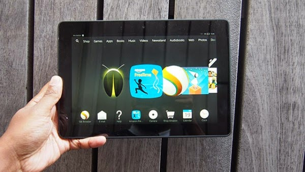 Kindle Fire HDX 8.9 (2014) review
