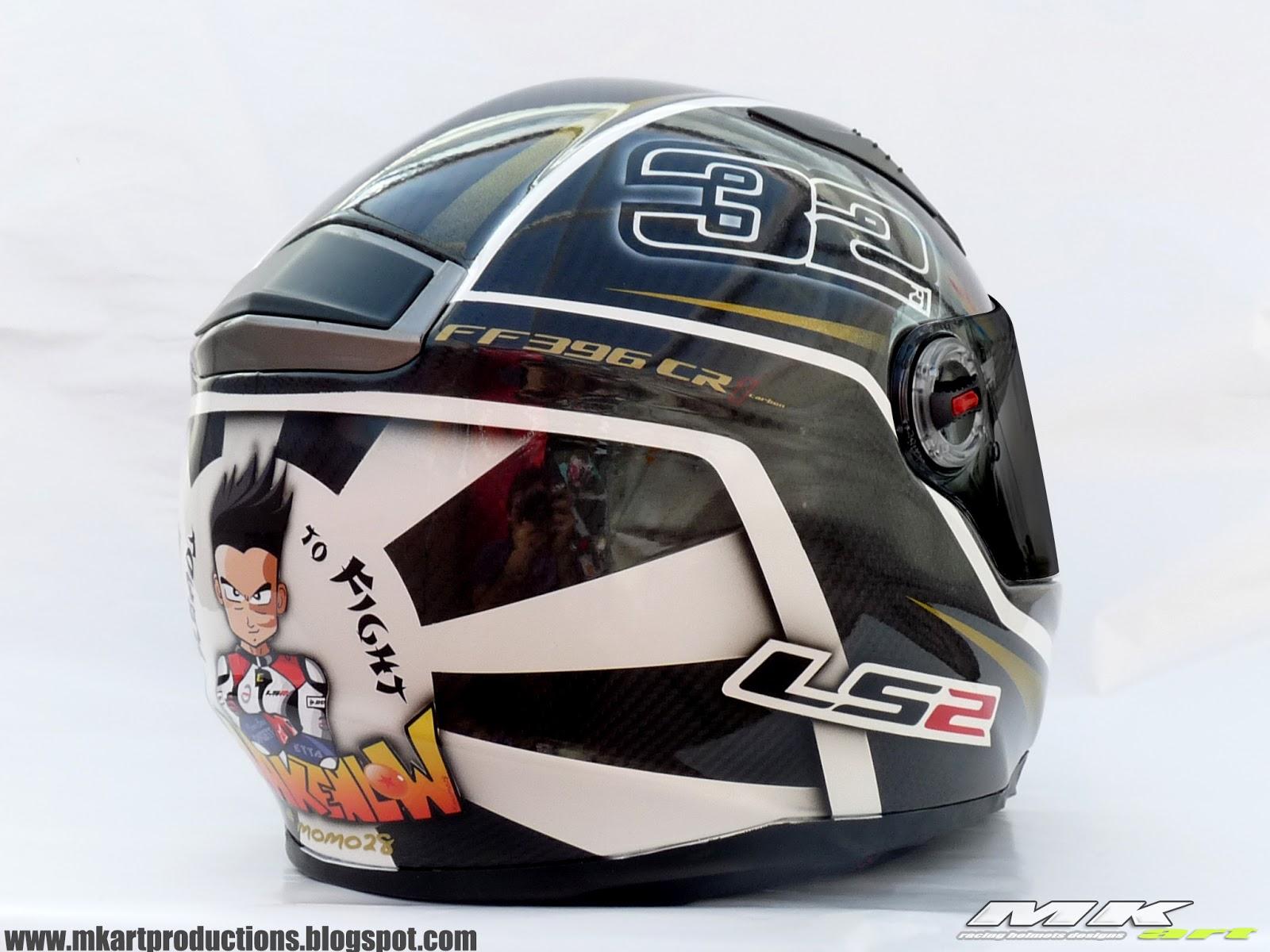 racing helmets garage ls2 ff396 cr1 i vi ales makenlow. Black Bedroom Furniture Sets. Home Design Ideas