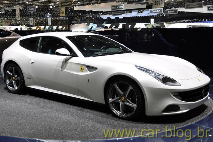 Ferrari Ff No Brasil Tem Pre 231 O Ao Redor De R 3 Milh 245 Es