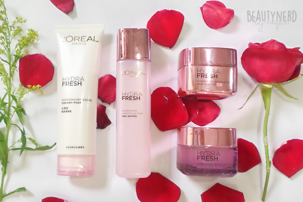 L'Oreal HYDRAFRESH | Beauty Nerd By Night