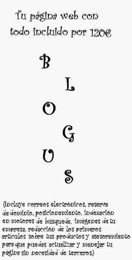 Diseño web Blogus