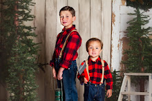 We just love these two lumberjacks!