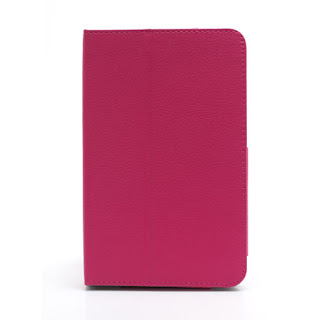 Leather Case Cover for Lenovo IdeaTab A1000 - Pink
