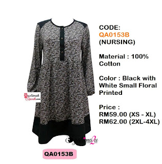 T-Shirt-Muslimah-Qaseh-QA0153B