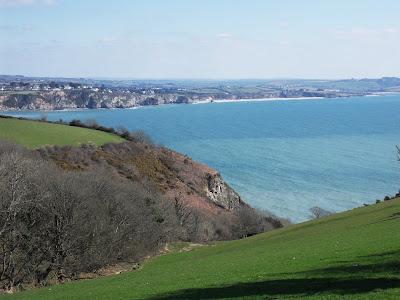 South coast of Cornwall views