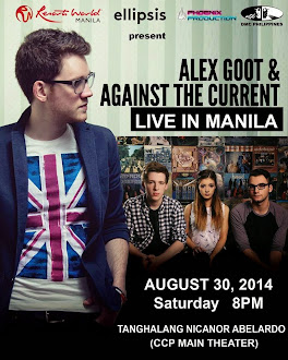 Alex Goot and Against The Current Live in Manila