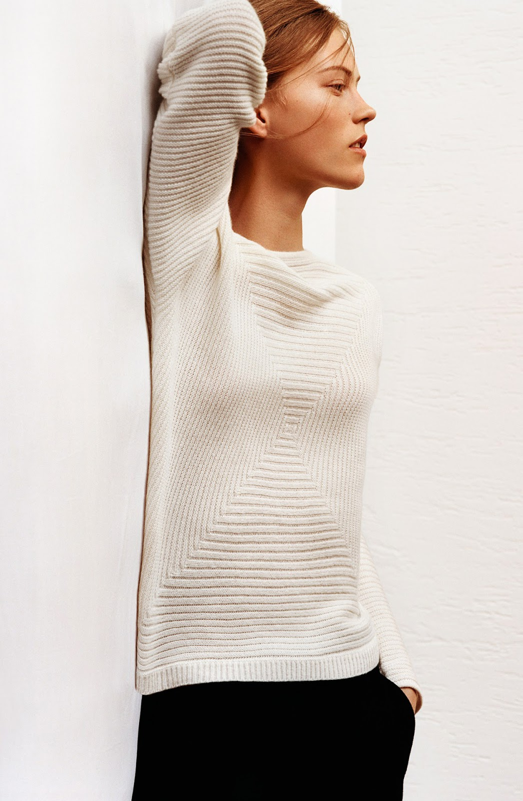 First look at Christopher Lemaire + Uniqlo collection via fashioned by love / british fashion blog