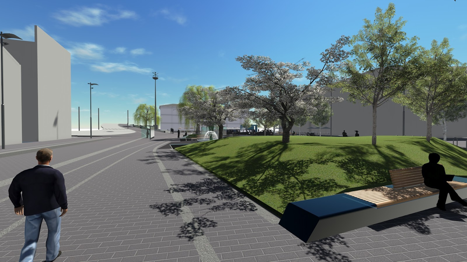 Revit landscape urban design lumion revit landscape for For architecture