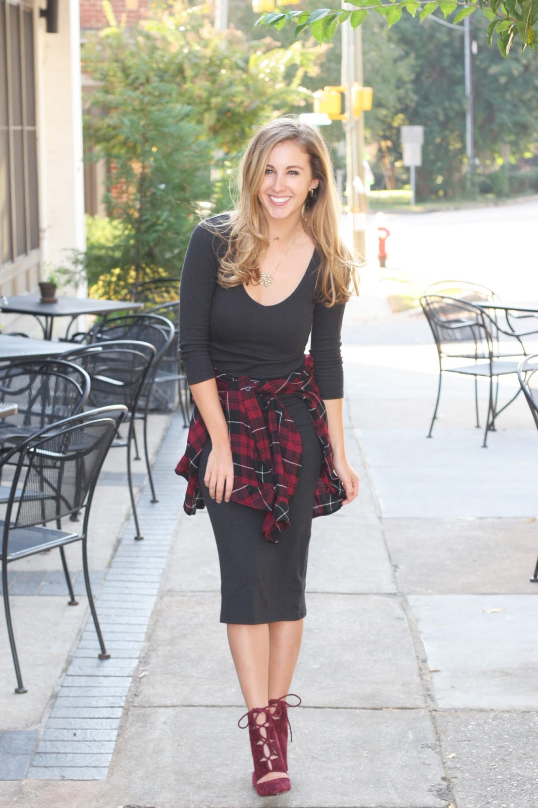 How-to-style-a-midi-dress-for-fall