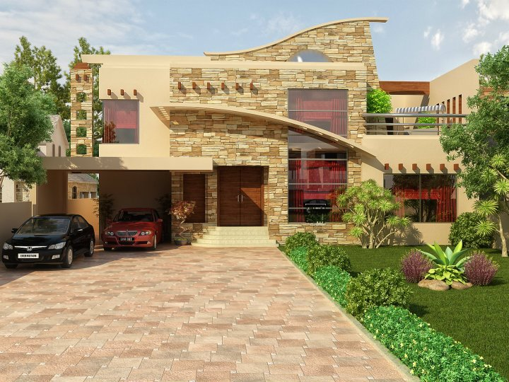 ... , 10 marla , 5 marla Plan, Beautiful Front elevation of Home Design
